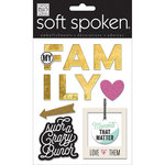 Me and My Big Ideas - Soft Spoken - 3 Dimensional Stickers - Crazy Bunch