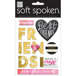 Me and My Big Ideas - Soft Spoken - 3 Dimensional Stickers - Love These Girls