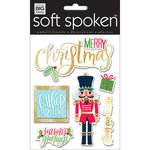 Me and My Big Ideas - Soft Spoken - 3 Dimensional Stickers - Christmas Gather Together