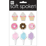 Me and My Big Ideas - Soft Spoken - 3 Dimensional Stickers - Yum Treats with Glitter Accents