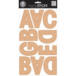 Me and My Big Ideas - MAMBI Sticks - Large Alphabet Stickers - Ava - Rose Gold Glitter
