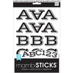 Me and My Big Ideas - MAMBI Sticks - Project Stickers - Sophia Black Caps