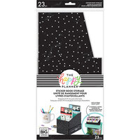 Me and My Big Ideas - Happy Planner Collection - Sticker Book Storage - Black and White Dot