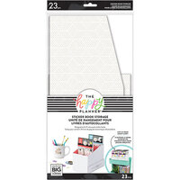 Me and My Big Ideas - Happy Planner Collection - Sticker Book Storage - Neutral Geo