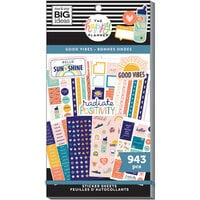 Me And My Big Ideas - Happy Planner Collection - Planner - Stickers - Value Pack - Good Vibes
