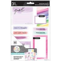 Me and My Big Ideas - Happy Planner Collection - Planner - Removable Decals - Dry Erase - Watercolor