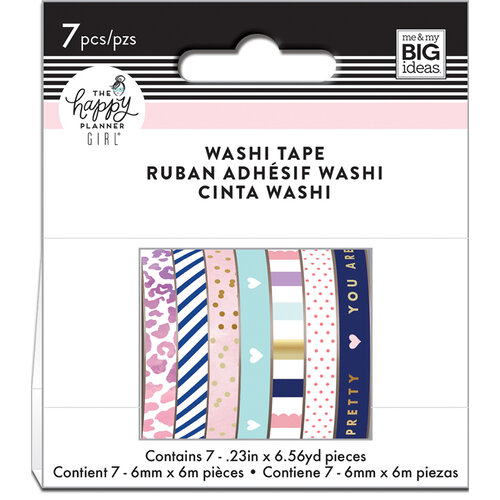 Me and My Big Ideas - Glam Girl Collection - Planner - Washi Tape