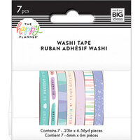Me and My Big Ideas - Happy Planner Collection - Planner - Washi Tape - Wellness