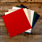 My Colors Cardstock - My Minds Eye - 12 x 12 Classic Cardstock Pack - Smooth Finish - Holiday