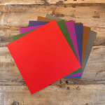 My Colors Cardstock - My Minds Eye - 12 x 12 Mini Dot Cardstock Pack - Dark Colors