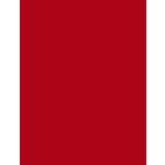 My Colors Cardstock - My Minds Eye - 8.5 x 11 Heavyweight Cardstock - Chinese Red