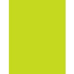 My Colors Cardstock - My Mind's Eye - 8.5 x 11 Heavyweight Cardstock - Lemon Lime