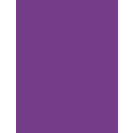My Colors Cardstock - My Minds Eye - 8.5 x 11 Heavyweight Cardstock - Purple Hearts