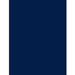 My Colors Cardstock - My Minds Eye - 8.5 x 11 Heavyweight Cardstock - Deep Blue