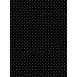 My Colors Cardstock - My Minds Eye - 8.5 x 11 Mini Dots Cardstock - Black Eyed Susan