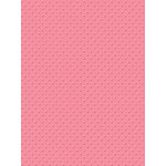 My Colors Cardstock - My Minds Eye - 8.5 x 11 Mini Dots Cardstock - Pink Carnation