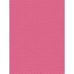 My Colors Cardstock - My Minds Eye - 8.5 x 11 Mini Dots Cardstock - French Rose