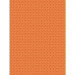 My Colors Cardstock - My Minds Eye - 8.5 x 11 Mini Dots Cardstock - California Poppy