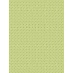 My Colors Cardstock - My Minds Eye - 8.5 x 11 Mini Dots Cardstock - Waterside Fern