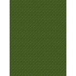 My Colors Cardstock - My Minds Eye - 8.5 x 11 Mini Dots Cardstock - Queens Fern