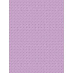 My Colors Cardstock - My Minds Eye - 8.5 x 11 Mini Dots Cardstock - Lavender