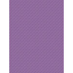 My Colors Cardstock - My Minds Eye - 8.5 x 11 Mini Dots Cardstock - Grape Verbena