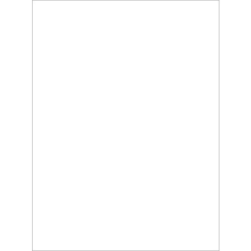 My Colors Cardstock - My Minds Eye - 8.5 x 11 Classic Cardstock - White