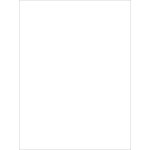 My Colors Cardstock - My Mind's Eye - 8.5 x 11 Classic Cardstock - White