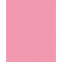 My Colors Cardstock - My Minds Eye - 8.5 x 11 Classic Colors Cardstock - Petal Pink