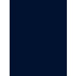 My Colors Cardstock - My Mind's Eye - 8.5 x 11 Classic Cardstock - Navy