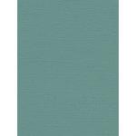 My Colors Cardstock - My Minds Eye - 8.5 x 11 Canvas Cardstock - Aquamarine