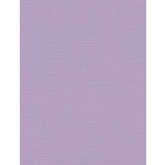 My Colors Cardstock - My Minds Eye - 8.5 x 11 Canvas Cardstock - Lilac Mist