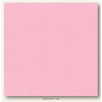 My Colors Cardstock - My Minds Eye - 12 x 12 Heavyweight Cardstock - Ballerina Pink