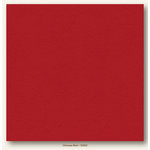 My Colors Cardstock - My Mind's Eye - 12 x 12 Heavyweight Cardstock - Chinese Red