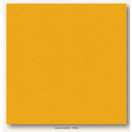 My Colors Cardstock - My Minds Eye - 12 x 12 Heavyweight Cardstock - Lemon Sorbet