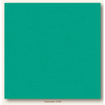 My Colors Cardstock - My Minds Eye - 12 x 12 Heavyweight Cardstock - Tropical Sea