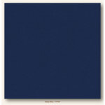 My Colors Cardstock - My Minds Eye - 12 x 12 Heavyweight Cardstock - Deep Blue