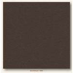 My Colors Cardstock - My Minds Eye - 12 x 12 Heavyweight Cardstock - Dark Molasses