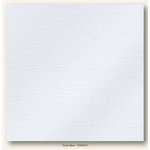 My Colors Cardstock - My Minds Eye - 12 x 12 Glimmer Cardstock - Polar Bear