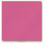 My Colors Cardstock - My Minds Eye - 12 x 12 Glimmer Cardstock - Frosty Pink