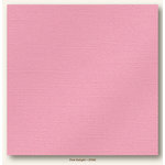 My Colors Cardstock - My Minds Eye - 12 x 12 Glimmer Cardstock - Pink Delight
