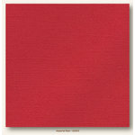 My Colors Cardstock - My Minds Eye - 12 x 12 Glimmer Cardstock - Imperial Red