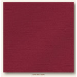 My Colors Cardstock - My Minds Eye - 12 x 12 Glimmer Cardstock - Exotic Red