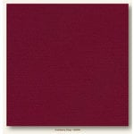 My Colors Cardstock - My Mind's Eye - 12 x 12 Glimmer Cardstock - Cranberry Zing