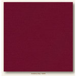 My Colors Cardstock - My Minds Eye - 12 x 12 Glimmer Cardstock - Cranberry Zing