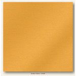 My Colors Cardstock - My Minds Eye - 12 x 12 Glimmer Cardstock - Golden Yellow