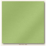 My Colors Cardstock - My Minds Eye - 12 x 12 Glimmer Cardstock - Willow Green