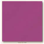 My Colors Cardstock - My Minds Eye - 12 x 12 Glimmer Cardstock - Amethyst Jewel