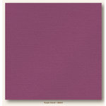 My Colors Cardstock - My Mind's Eye - 12 x 12 Glimmer Cardstock - Purple Velvet