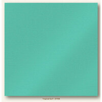 My Colors Cardstock - My Minds Eye - 12 x 12 Glimmer Cardstock - Tropical Surf